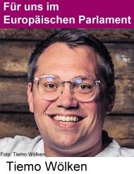 Tiemo Wölken, Mitglied des Europäischen Parlaments